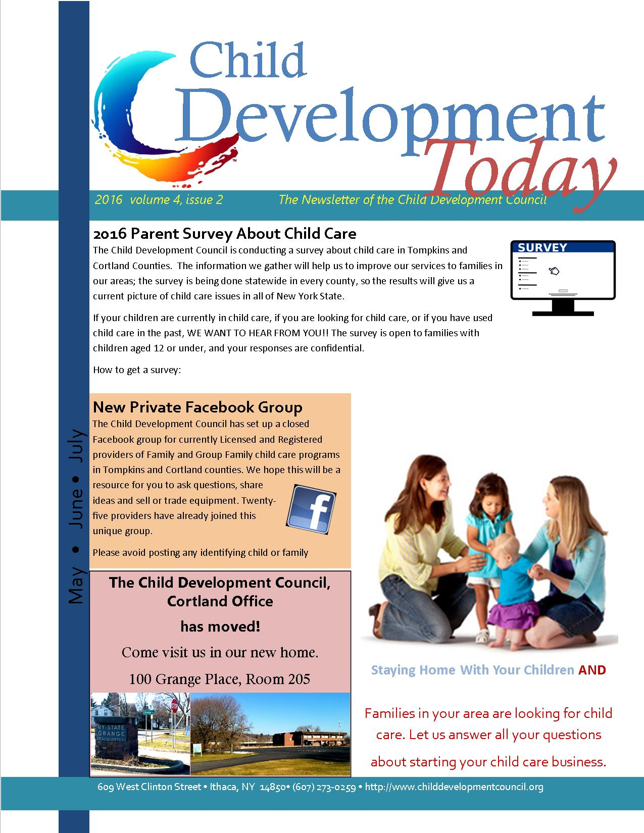 childcare child development There are many child care and development programs in california these programs are for children from birth to age twelve they offer early learning and after-school services to babies, toddlers, children in preschool, and children in kindergarten through sixth grade some programs assist children .
